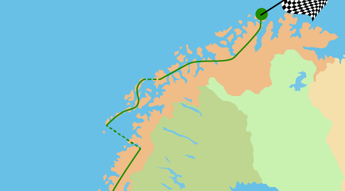 Die Streckenplanung